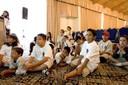 Students preparing to present next