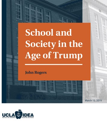 School and Society in the Age of Trump