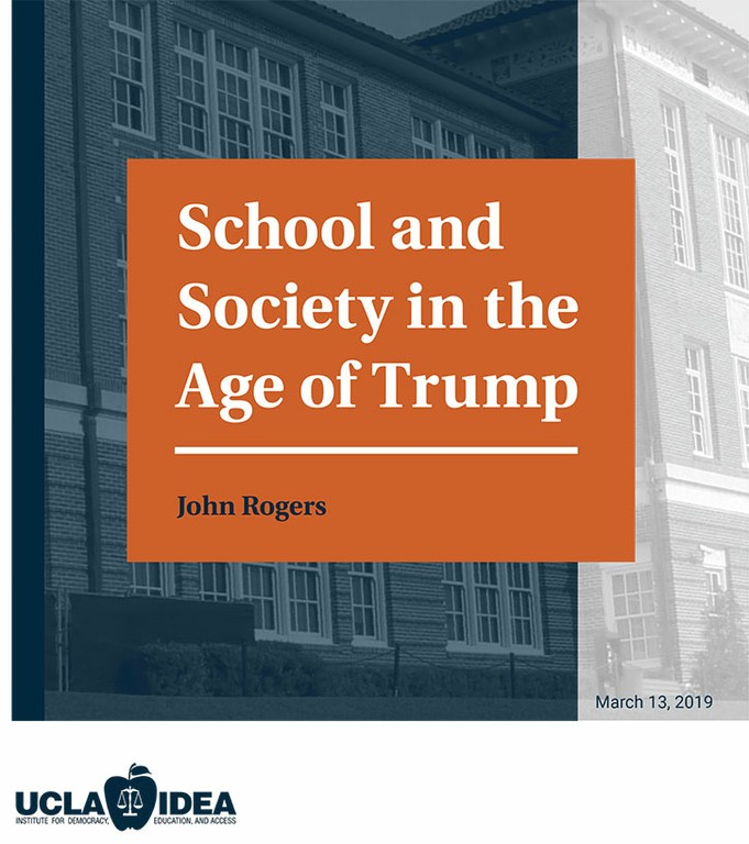 School and Society in the Age of Trump Report Cover